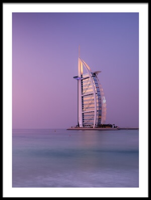 Art print titled The Iconic Seven by the artist Andreas Agazzi