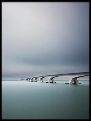 Art print titled The Infinite Bridge by the artist Arthur van Orden
