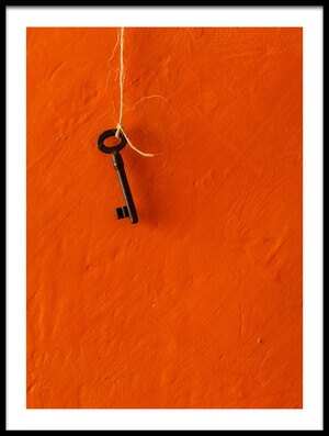 Buy this art print titled The Key by the artist Luiz Laercio