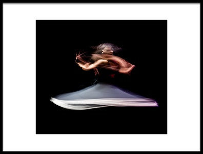 Art print titled The Last Dance of Death by the artist Mohcine Tabate