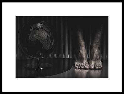 Art print titled The Last Jump by the artist Daniele Mele