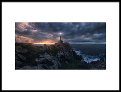 Art print titled The Light at the End of the World by the artist Carlos F. Turienzo