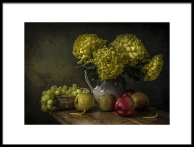 Art print titled The Light Illuminated and Colored by the artist Margareth Perfoncio