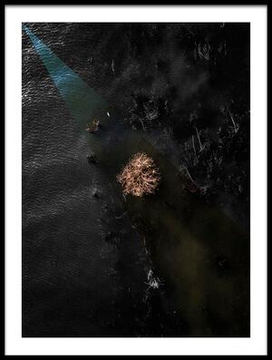 Art print titled The Light of Death by the artist Zhou Chengzhou