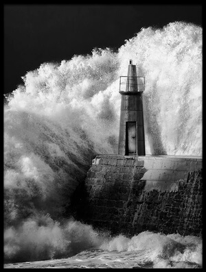 Buy this art print titled The Lighthouse by the artist Alejandro Garcia Bernardo