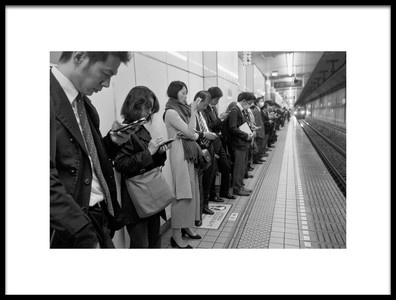 Art print titled The Line by the artist Lorenzo Grifantini