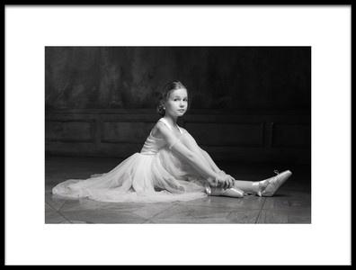 Art print titled The Little Dancer 2 by the artist Victoria Ivanova
