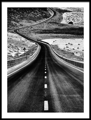 Art print titled The Long and Winding Road by the artist txules