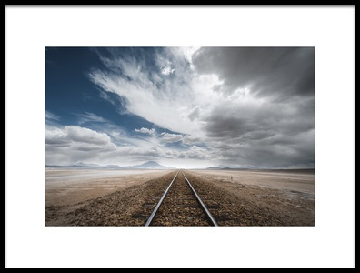Art print titled The Long Road by the artist Rostovskiy Anton