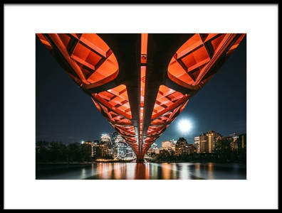 Art print titled The Main Artery by the artist Kevin Jiang