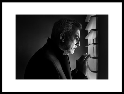 Art print titled The Man at the Window by the artist Anita Underwood Photography