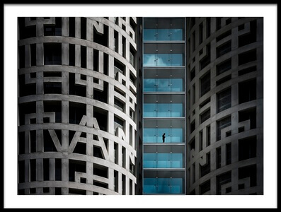 Art print titled The Man of Third Floor by the artist vladi garcia