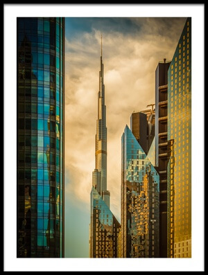 Buy this art print titled The Mighty Burj by the artist Nicolas Tohme