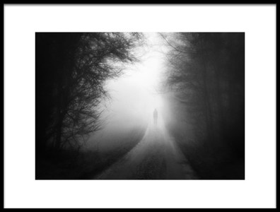 Art print titled The Mist Is Coming by the artist Marianne Siff Kusk