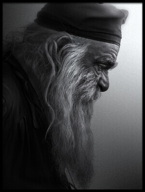 Buy this art print titled The Monk by the artist robert semnic