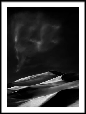 Buy this art print titled The Mournful Kingdom of Sand  by the artist Yvette Depaepe