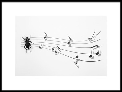 Art print titled The Music of Nature by the artist Stefano Mallus