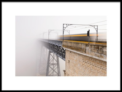 Buy this art print titled The Mystery Train by the artist Alvaro Roxo