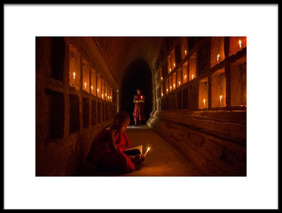 Art print titled The Novices by the artist Amnon Eichelberg