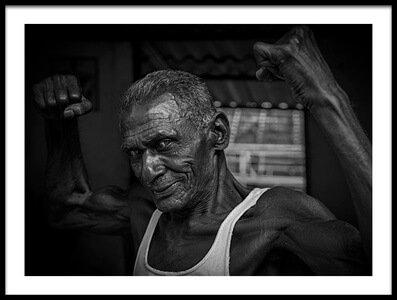 Buy this art print titled The Old Champ by the artist Linda Wride