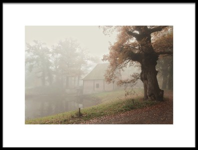 Art print titled The Old Watermill by the artist Vincent Croce