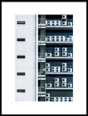 Buy this art print titled The Other Side of the Building by the artist Tetsuya Hashimoto