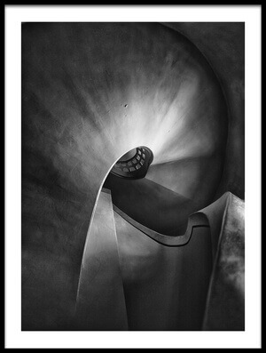 Art print titled The Other Side of the Moon by the artist holger droste