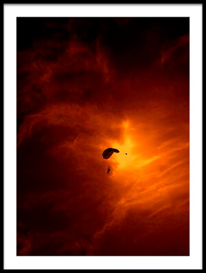 Buy this art print titled The Paratroops by the artist Rabia Basha