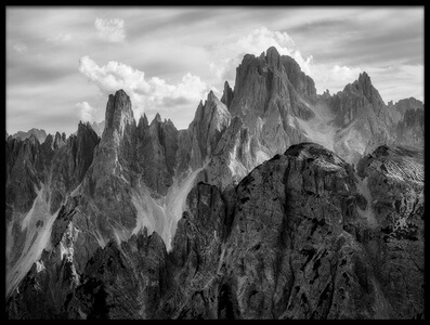 Buy this art print titled The Peaks by the artist Daniel Fleischhacker