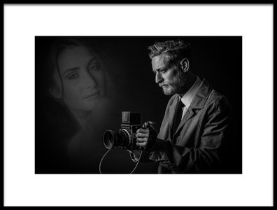 Buy this art print titled The Photographer by the artist Hubert Bichler