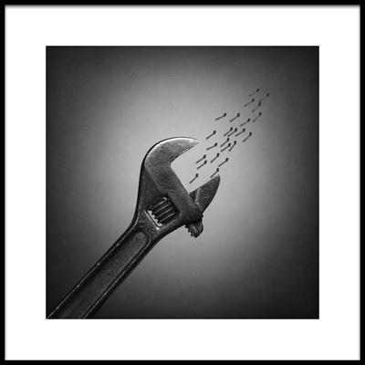 Art print titled The Plankton by the artist Victoria Ivanova
