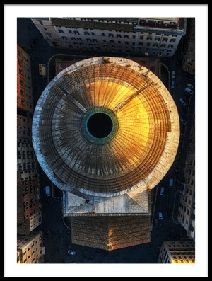 Art print titled The Pupil of the Eye by the artist Stan Huang