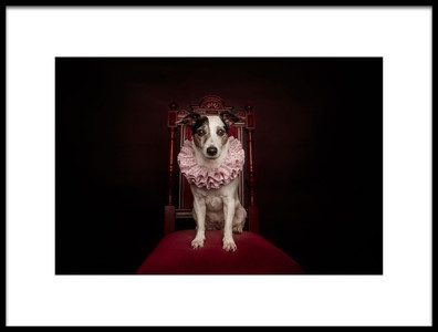 Buy this art print titled The Queen by the artist Heike Willers