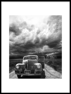 Buy this art print titled The Rainmaker by the artist LARRY BUTTERWORTH