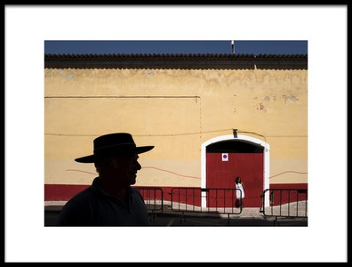 Art print titled The Red Line by the artist Vasco Trancoso