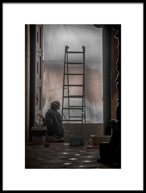 Art print titled The Restorer by the artist Romy Stapelberg