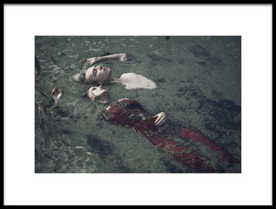 Art print titled The River Bank by the artist Magdalena Russocka