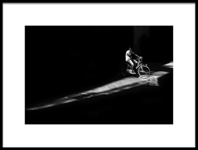 Art print titled The Road by the artist Enrico Finotti Re