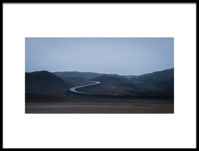 Art print titled The Road by the artist Dominik Gehl