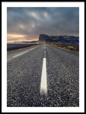 Art print titled The Road by the artist Carlos M. Almagro