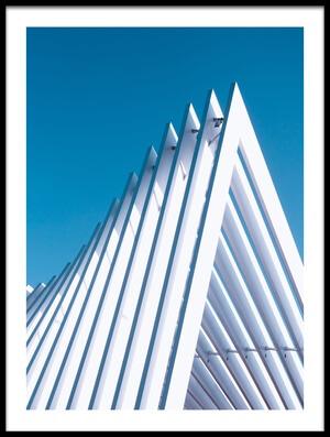 Art print titled The Roof by the artist Kurt Weinmeister