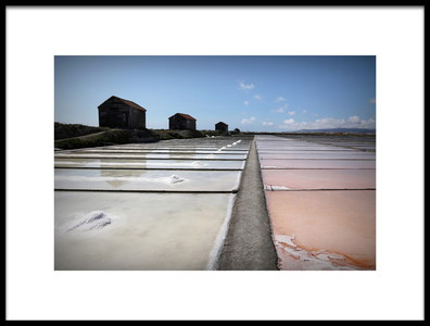 Art print titled The Salt Way by the artist Isabel Daniel