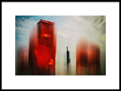 Buy this art print titled The Scratched Soul of My City by the artist Bruno Flour