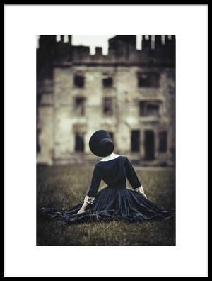 Art print titled The Secrets of the Old Castle by the artist Magdalena Russocka
