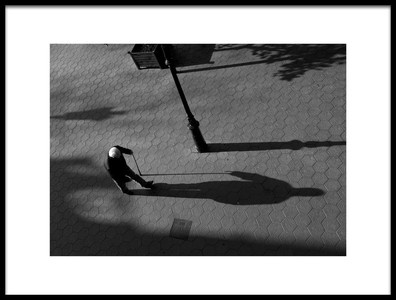 Art print titled The Shadow by the artist Lorenzo Grifantini