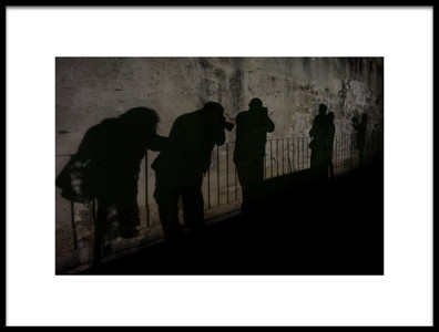 Art print titled The Shadows by the artist Alfred Forns