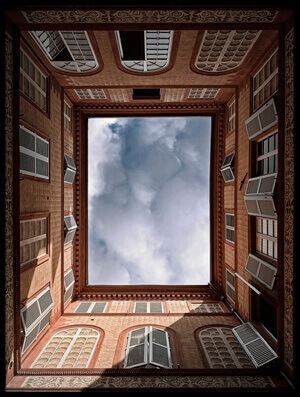 Art print titled The Sky by the artist Wim Schuurmans