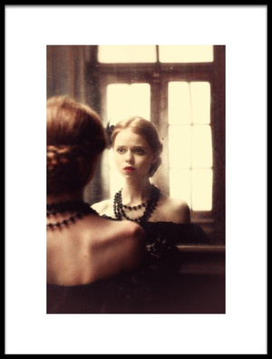 Art print titled The Soft Touch of Decadency by the artist Magdalena Russocka
