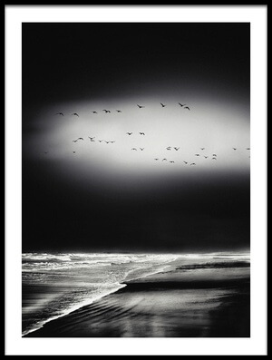 Art print titled The Song of the Wet Sands by the artist Piet Flour