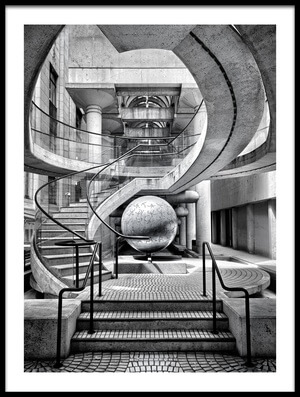 Art print titled The Sphere by the artist Gary E. Karcz